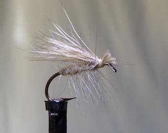 Elk hair caddis, dry flies, set of three
