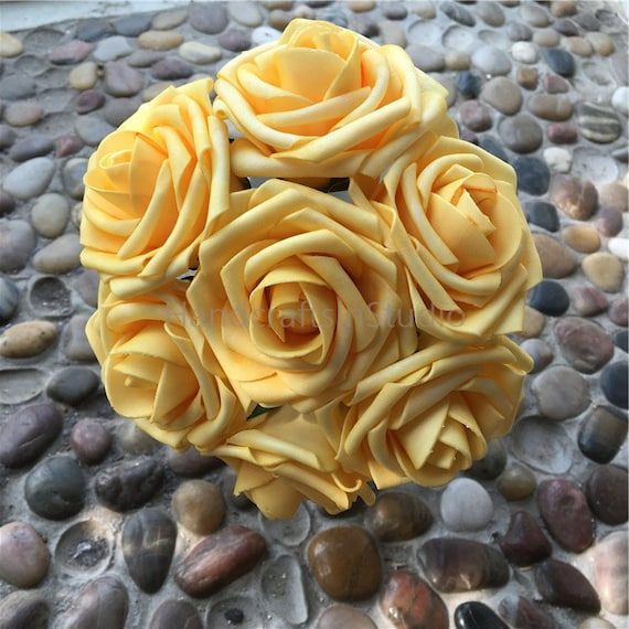 Canary yellow flowers roses 100 stems for bridal bouquets mightylinksfo