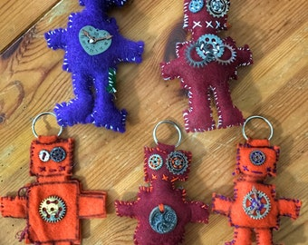 The Lonely Hearts Collection                  Robot keychains