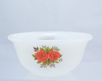 Phoenix opalware bowls x 2, Made in England, mid-century