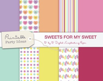Digital Scrapbooking Sweets for my Sweet Valentine's Day