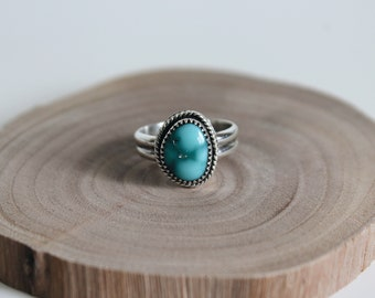 Nevada Turquoise, Sterling Silver Ring