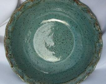 Pottery Serving Bowl ROBIN - Handmade Pottery