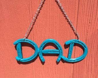 Horseshoe DAD Sign