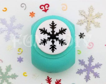 37x37mm extra large size paper punch -- snowflake