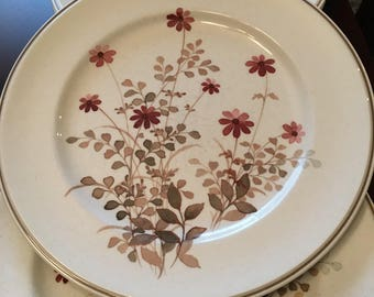 "Noritake Versatone - ""Outlook"" - Set of 4 Dinner Plates - Stoneware - Made in Japan"