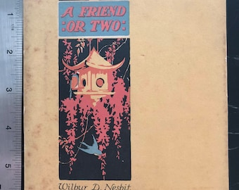A Friend or Two, Copyright 1925