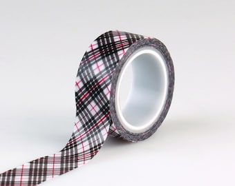 Christmas Delivery Plaid Tape- Carta Bella Paper