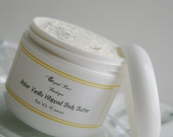 Whipped Body Butter - Shea Butter Body Butter  - Natural Body Butter - Choose your Scent