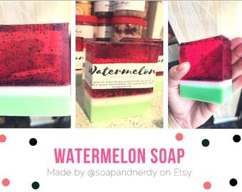 Soap Bar- Watermelon Soap