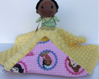 Ultra Plush and Snuggly Walt Disney's The Princess and the Frog Tiana Lovey Blanket