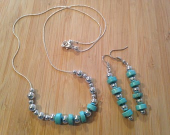 Turquoise and silver trio