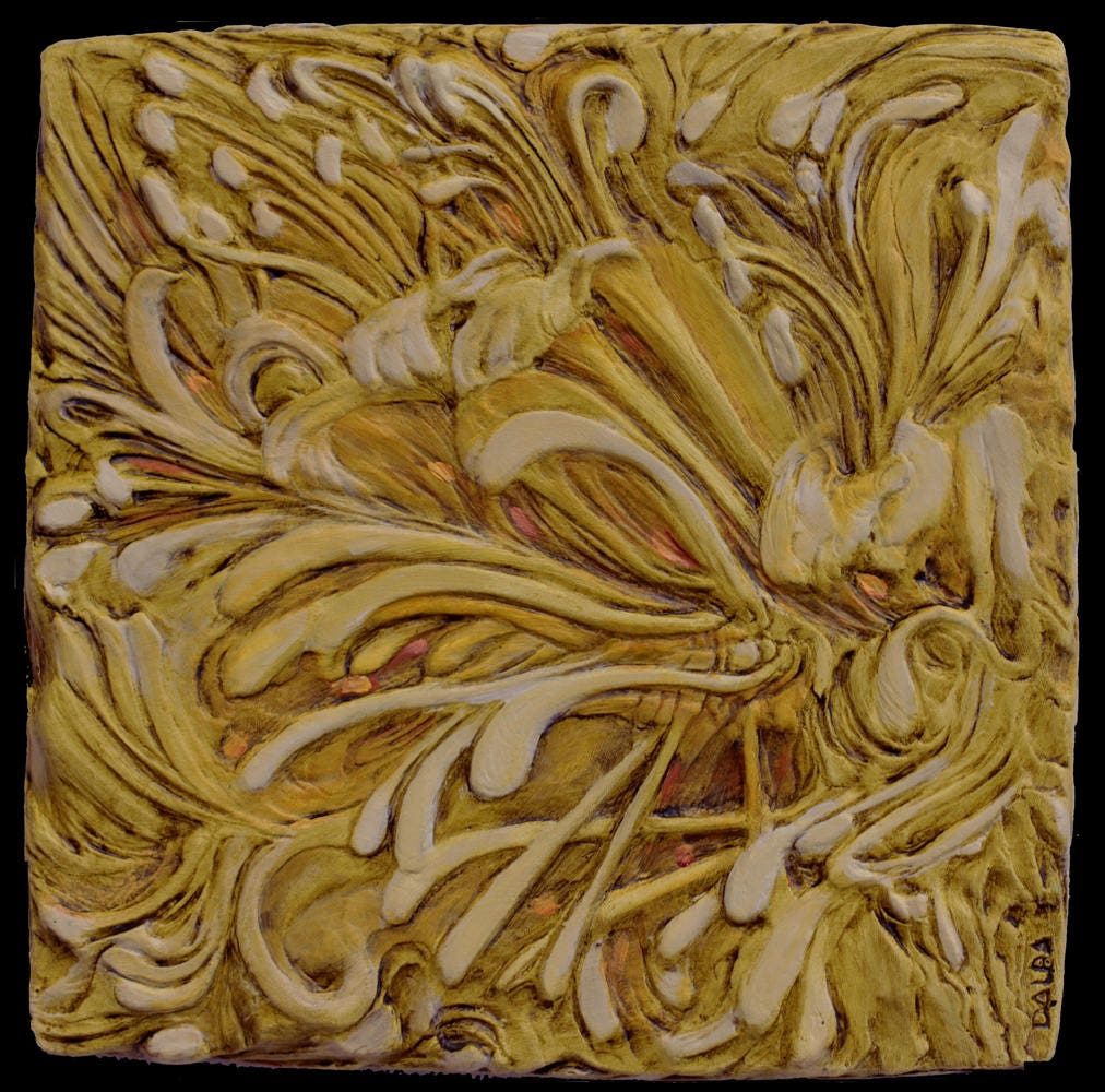 3D Wall Art Wall Sculpture Carved Art Wall Carving Color