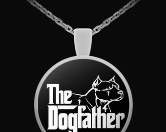 Pit bull necklace, Pitbull Dad Gifts, Pitbull Dad, Fathers Day Gift, Pitbull jewelry, Gift for Pitbull lover, Fathers Day Necklace
