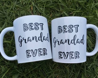 Sale seconds best grandad ever mug, gift ideas, gifts for him