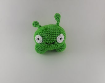 Final Space Inspired Mooncake Crochet Amigurumi Alien Plush, Outer Space Amigurui Plush Crochet Alien, Chookity Final Space