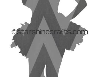 Ballerina SVG for personal cutting machines - instant download