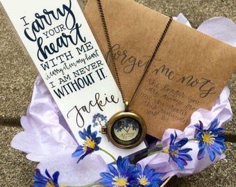 Forget Me Not Sympathy Basket; Forget Me Not Bereavement Gift; Sympathy Gift; In memory of Gift; Condolence Gift
