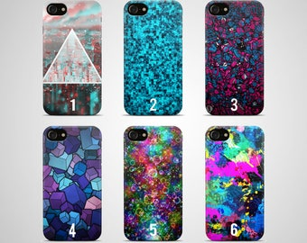 Abstract phone case iPhone case 7 X plus 8 6 s 6s 5 5s se galaxy Samsung case s8 s7 edge s6 s5 note 4 art abstraction modern design instant