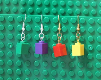 Building Block Earrings - 1sie