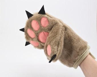Oven Mitt - Bear Paw Kitchen Glove