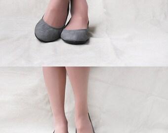Free Spirit- Handmade Leather ballet flat shoes -  CUSTOM FIT