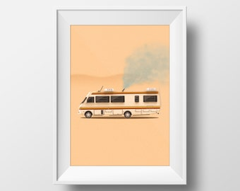 Where It All Began - Breaking Bad Poster