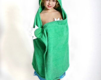 Devin Dinosaur Towel - Kids Hooded Towel - Boys Dino Birthday - Dinosaur Gift - Zoochini Towel - Hooded Beach Towel - Boy Birthday Gift