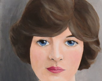 Galadria - Original Painting by Elizabeth Bauman