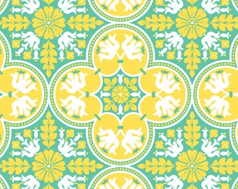 1 yard of Canary Historic Tile by Joel Dewberry
