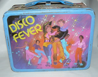 Disco Fever 1980 Metal Lunch Box