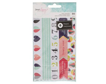 Dear Lizzy Washi Tape Book 30 pieces