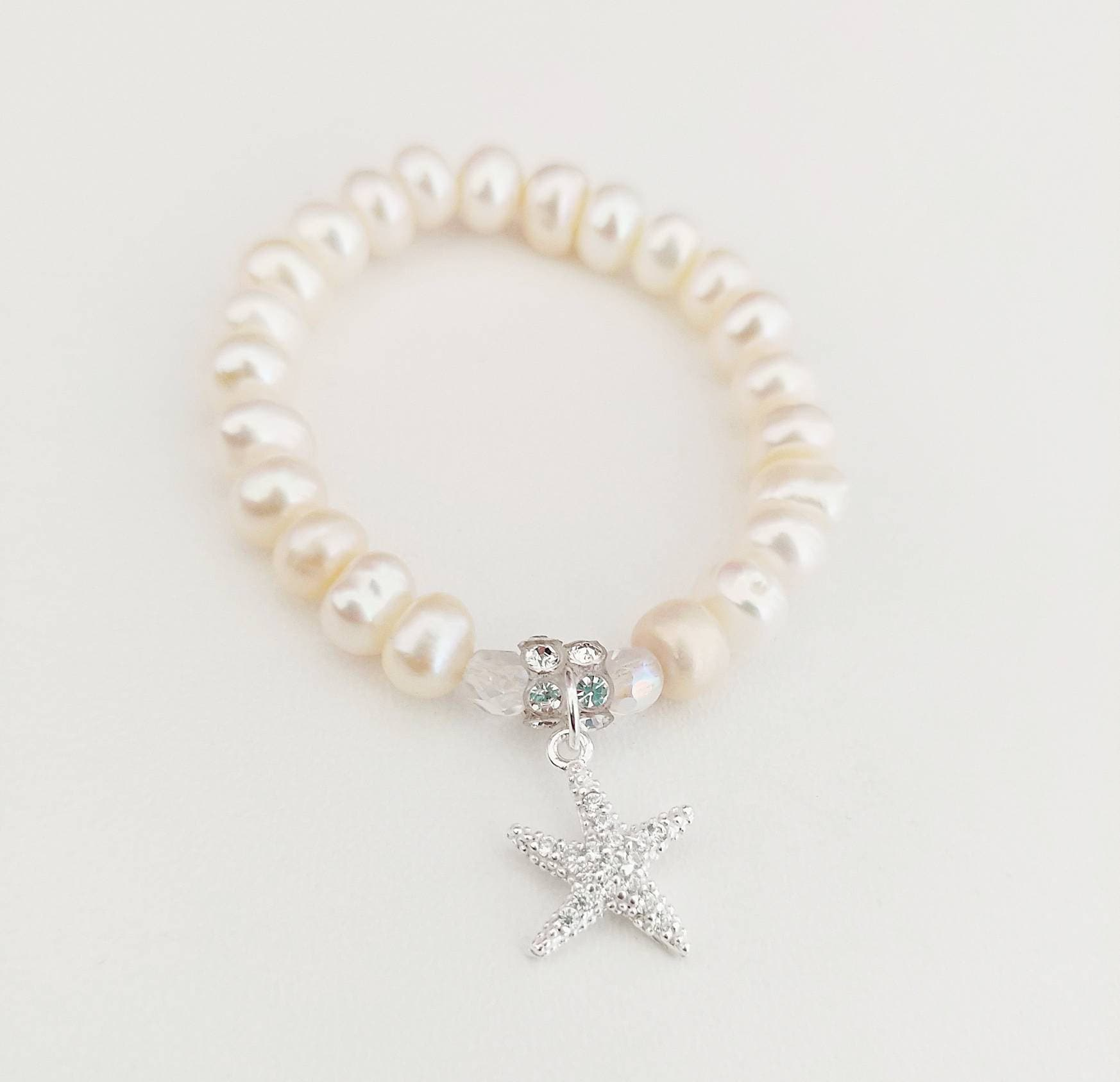 swarovski gift light fullxfull p bracelet pearl and flowergirl il pale flower blue girl