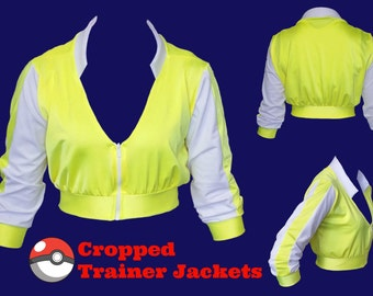 JACKET Cropped Pokemon Trainer Cosplay