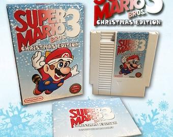 Super Mario Bros. 3 Christmas Edition 2017 CIB NES Nintendo