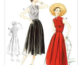 By Vogue V8973 retro vintage sewing pattern