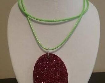 Glitter Christmas Pendant
