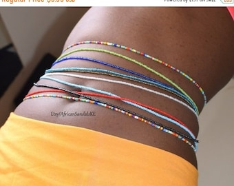ON SALE WAIST Beads, African Waist Beads, African Jewelry, Belly Beads, Belly Chains, African Clothing For Women, Africa Jewelry, African