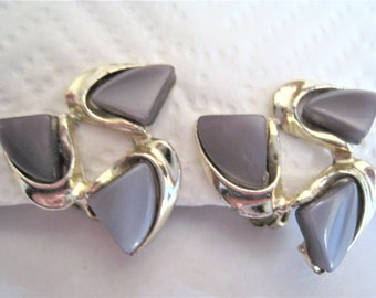 Pair Of Thermoset Earrings