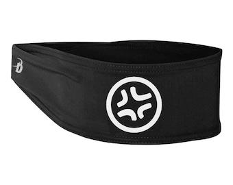 Angry Anime Symbol, Black Headband, Baka Dots Logo, Anime Style Gift, Otaku Headband, Sports Headband, Geek Headband, Unisex gift, cosplay