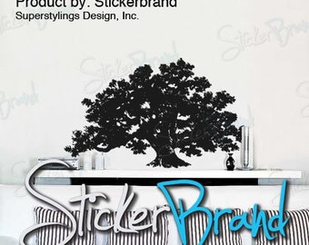 Vinyl Wall Decal Sticker Big Oak Tree 410s