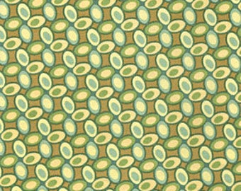 Jelly Bean in Green - Freshcut by Heather Bailey for Free Spirit ~ 100% Cotton BTY - PWHB029 - cotton quilting fabric - HALF YARD cut