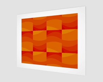 Shades of Orange Fine Art Print