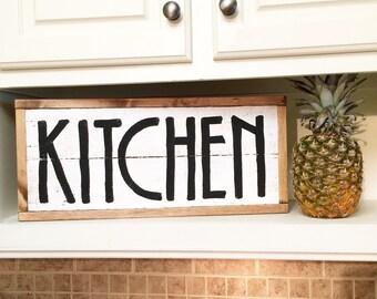 Kitchen decor - rustic kitchen decor - pallet decor - pallet sign - kitchen sign