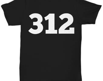 Chicago Shirt, The 312, Chicago TShirt, Chitown Shirt, Windy City Shirt, Chi-Town Shirt