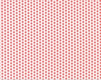 SUNDROPS, Corey Yoder, Moda Fabrics, 29016-17, Dark Coral Dots, Sundrops fabric, Sundrops Collection, Little Miss Shabby