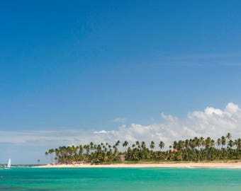 Caribbean beach photography, Instant download