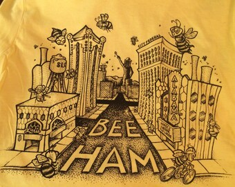 Medium- The Buzz About Bee-Ham: Yellow