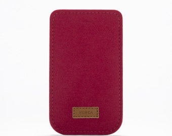 Felt Case iPhone 5 and 5s - iPhone 5 and 5s Sleeve - iPhone Cover - iPhone 5 Felt Sleeve - Cell Phone Case