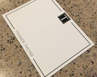 Stationary Set- FLAT CARDS & Envelopes